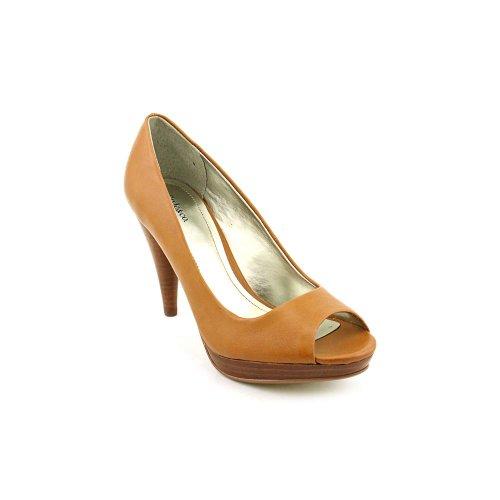 Style & Co. Women's Celine Peep Toe Pumps in Chestnut Size 11