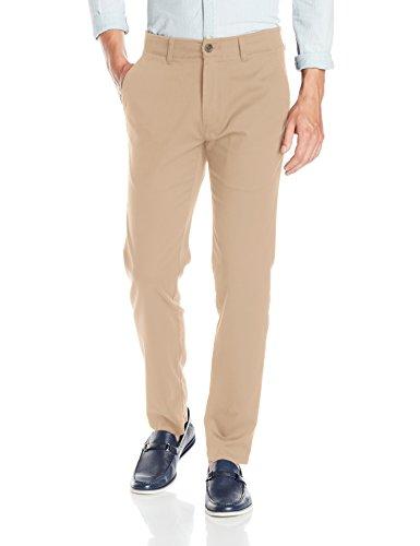 Haggar Mens In Motion Rambler Slim Fit Flat Front Athleisure Casual Pant
