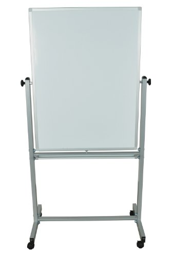 High-Life 30 X 40 Double Sided Magnetic Reversible White Board With Casters by High-Life