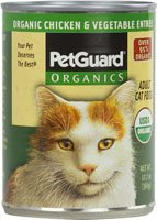 PetGuard Organics Cat Food Chicken and Vegetables — 12.7 oz, My Pet Supplies