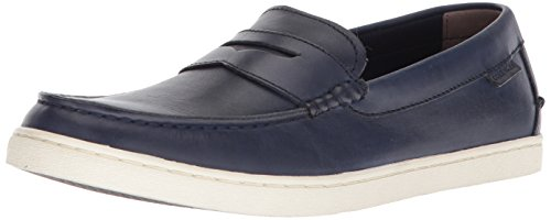Cole Haan Men's Nantucket Loafer II, Navy Handstain, 8.5 M US
