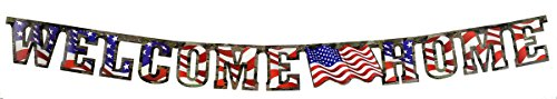 TheCamoHut Welcome Home Banner product image