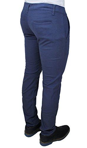 Fit Jeans Pantalone Invernale Battistini Slim Casual Blu Uomo C Aderente Sartoriale f1w10x4q
