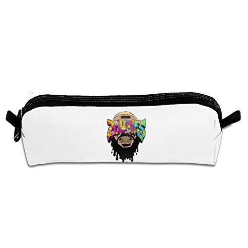 Pencil Case, Zombies Pencil Pen Case Pouch Box School Organizer Makeup Cosmetic Bag]()