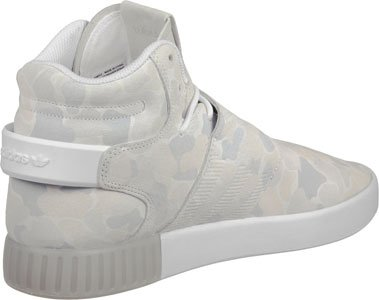 adidas Performance Herren Mid-Cut-Sneakers Tubular Invader Strap White