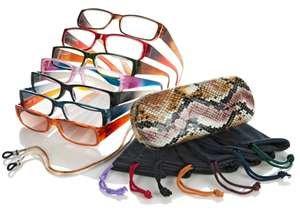 JOY MANGANO 20-pc Readers Glasses Luxury Metallic Set +3.5 power by Joy Mangano Shades