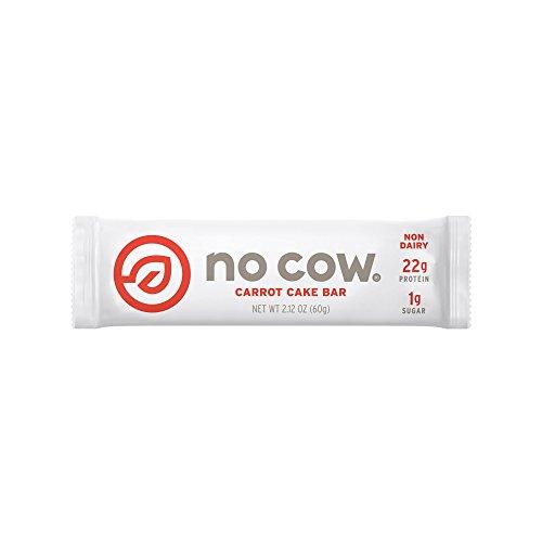 No Cow Carrot Cake Bar