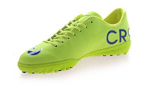 WANDASTAR - Zapatillas de fútbol para chico verde lima
