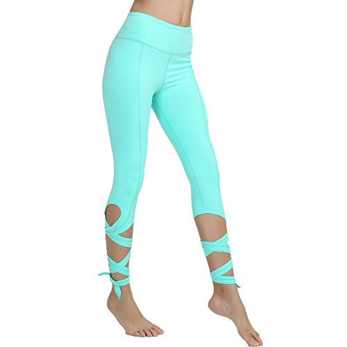 Yoga Pants Yoga Capris Leggings - Gifts for Women No See Through Yoga Leggings 4 Way Stretch Dance Pants with Pocket