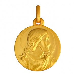 MEDAILLE CHRIST - Or 9 carats