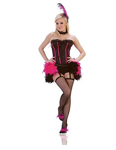 [Striking Vegas Show Girl Costume] (Las Vegas Showgirl Costume)