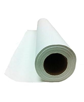 "MedInt 21"" x 125' Standard White Examination Paper Single Roll"