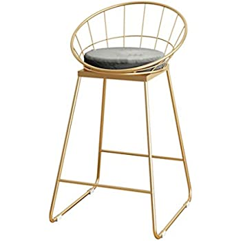 Amazon Com Industrial Barstools Chair Footrest Stool With