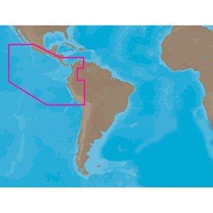 C-MAP NT SA-C001 - Peru-Puerto Vallarta-Puerto Bolivar - C-Card