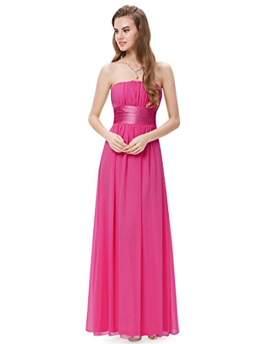 HE09060HP10 Hot Pink 8US Ever Pretty Long Summer Dresses Casual 09060
