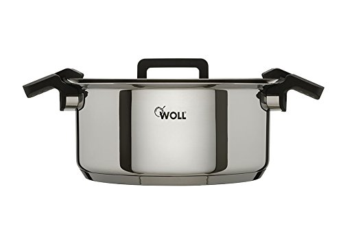 Woll 24cm Stainless Steel Casserole Dish With Glass Lid KitchenCenter 1406305