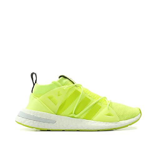 finest selection a1b6f 68073 adidas Women Arkyn W (YellowGlowsemi Solar YellowGrey Five)