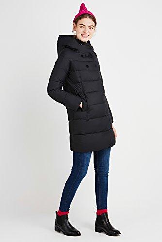 Caldo Down Lunga Trapuntata Invernale Donna Giacca Incappucciato Nero Icebear Da Colletto Cappotto x8XqERwZ