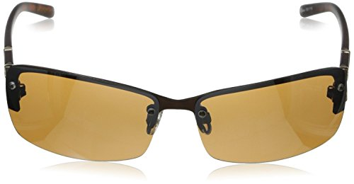 Cue Polarized Sunglasses for women with Max Block Brown Leopard Jeweled