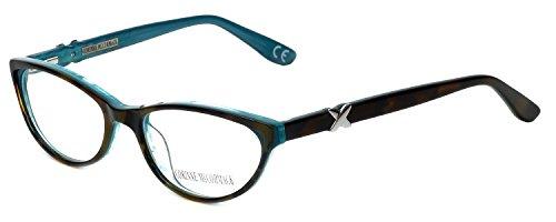 Corinne McCormack Designer Reading Glasses Riverside in Tortoise-Teal +1.75