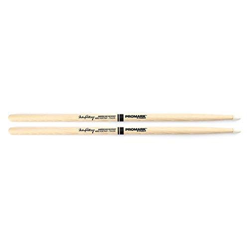 - Promark TX420N American Hickory Mike Portnoy Autograph Series Nylon Tip, Single Pair (Limited Edition)