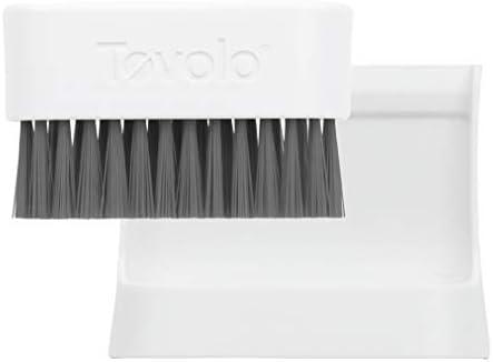Taymor 02-DCT1405 Dual Text Bowl Brush Chrome