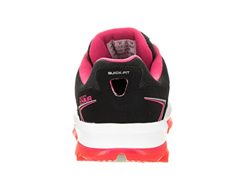 Skechers Go Air - Zapatillas Mujer Black/Hot Pink