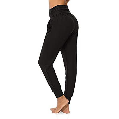 DIBAOLONG Womens Yoga Sweatpants Loose Workout Joggers Pants Comfy Lounge Pants with Pockets: Clothing