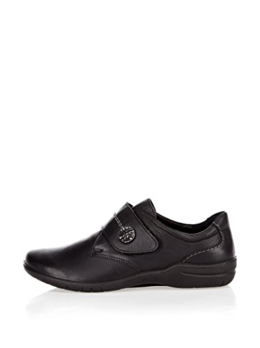 Seibel Derby Apdtvq De Negro Josef Fabienne Mujer Zapatos Cordones Para Orw5zxOq