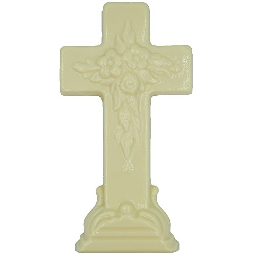Philadelphia Candies Solid White Confection Easter Cross, 10