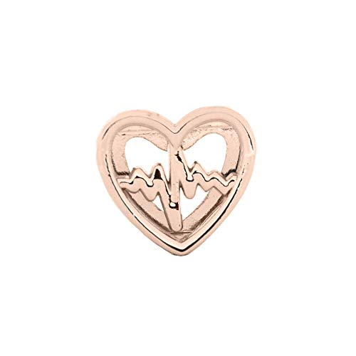 for Jewelry Making | Heart Slide Charms Keeper Bracelet | for Leather Wrap Bracelets (20pcs/lot)