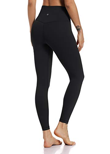 HeyNuts Hawthorn Athletic Women's Essential High Waist Buttery Soft Yoga Pants Tummy Control Compression Slimming Workout Act