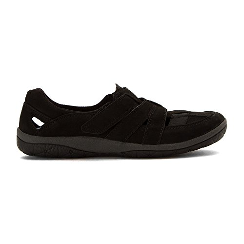Clarks Mujeres Teffa Adorn Fashion Sneakers Black