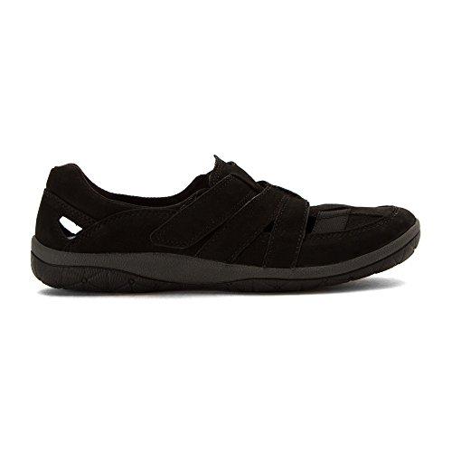 Teffa 9 Clarks Nubuck Adorn Black Women's M Sneaker B w4x7nxvSq5