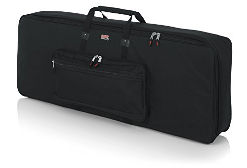 Access Gig Bags - Gator Cases Padded Keyboard Gig Bag; Fits 76 Note Keyboards (GKB-76)