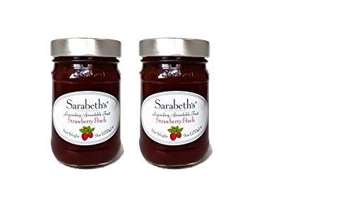 - Sarabeth's Legendary Strawberry Peach Preserves (9 oz Pack of 2)