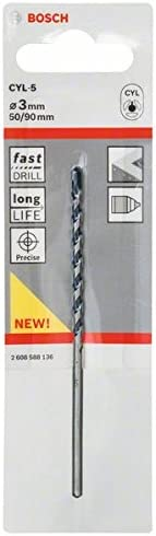 Bosch 2608588140 CYL-5 Concrete Drill bit 5 mm Silver