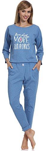Merry Style Pijama para Mujer 1196 Azul-2A