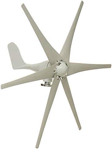 SISHUINIANHUA 6000W 12V / 24V / 48V 6 Nylon-Faser-Blatt-Wind-Turbinen-Generator Horizontal Energie Windrad Energie Turbines Lade Fit Für Heim,48v