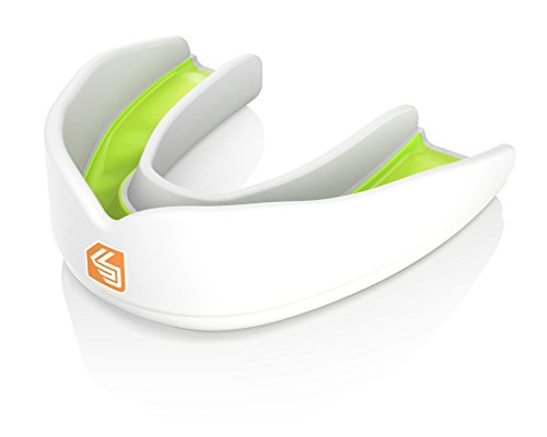 Shock Doctor Adult Ultra Basketball Flavor Fusion Mouthguard, Limontensity