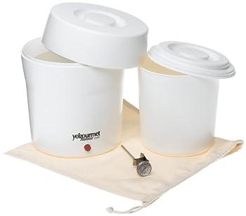 Yogourmet 104 Seal-Tight Lid Yogurt Maker