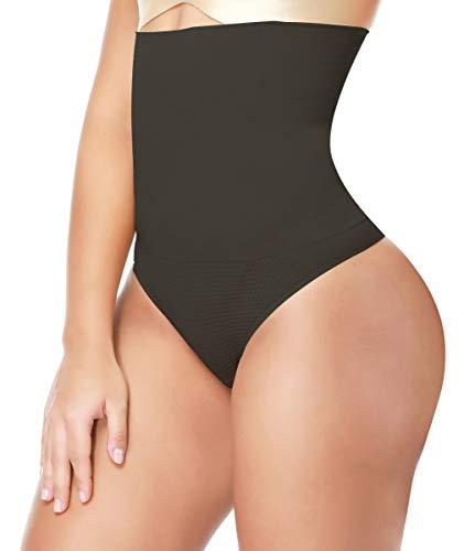 e59ad3b792083 LANFEI Women s High Waist Thong Shapewear Tummy Control Panties Waist  Trainer Underwear
