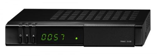 Triax S-26 HD HDTV Satelliten SAT Receiver für die ORF KARTE mit USB Anschluss