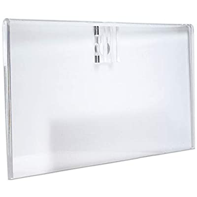 Beauticom Clear Acrylic License Holder for Cosmetology or Other Business: Beauty