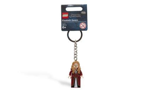 LEGO Pirates of the Caribbean: Elizabeth Swann Key Chain by LEGO (Lego Elizabeth Swann)