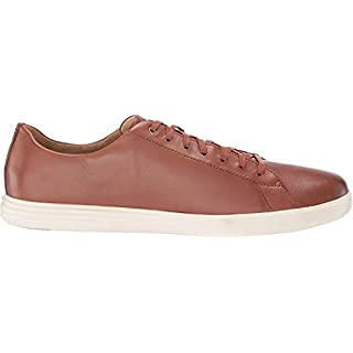 Cole Haan Men's Grand Crosscourt II Sneaker, Tan Leather Burnsh, US 9W