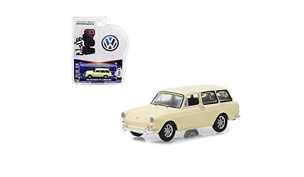 Greenlight 1//64 Club V-Dub Series 7-1963 Volkswagen Type 3 Squareback Panel Van 1:64 Scale Die-Cast Vehicle Die Cast