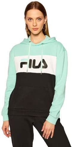 Fila Sweatshirt Lori 687042 Black/Beach Glass/Bright White Regular Fit