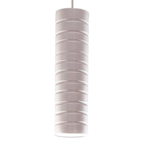 Strata 1 Light Mini Pendant Finish: White Gloss, Canopy and Transformer: Without (A19 Mini Pendant Strata)