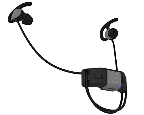 SlimBuds Headphones - Fit Under Any Helmet - Wireless Slim Helmet Headphones - Reduces Wind and Engine Noise - Wind Resistant Mic - HD Sound w/Bass - for Motorcycle, Ski, Biking and Everyday Use (Best Earbuds For Ski Helmet)